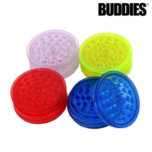 Buddies Plastic Grinder Assorted Colours (3 Levels)
