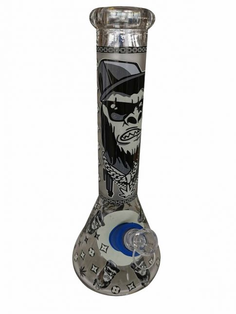 Gangsta Apes Glass Water Pipe