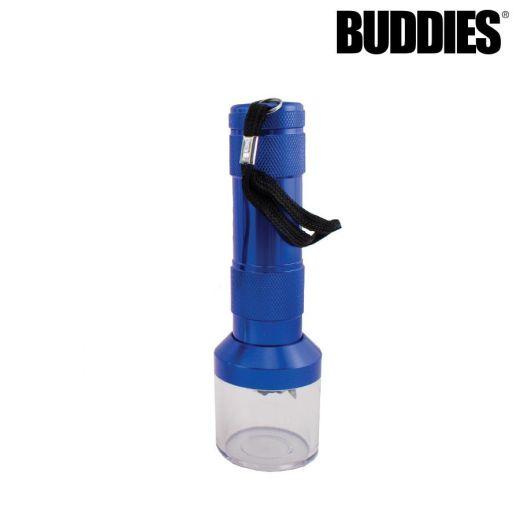 Buddies Blue Electric Grinder with Flashlight Handle