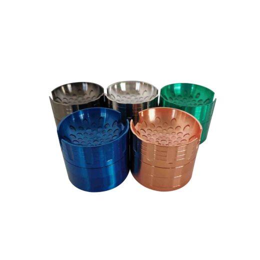 4 Level Aluminium Grinder in 6 colors: 63mm Diameter