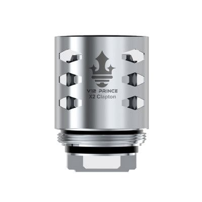 SMOK X2 Clapton Coil a pack of 3 pcs (0.4 ohm) Compatible with V12 Prince TANK