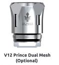 V12 Prince Dual Mesh Coil: 3pcs/pack 0.2 ohm