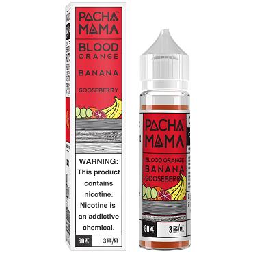 Charlies Pacha Mama 60ml: BloodOrange Banana Gooseberry
