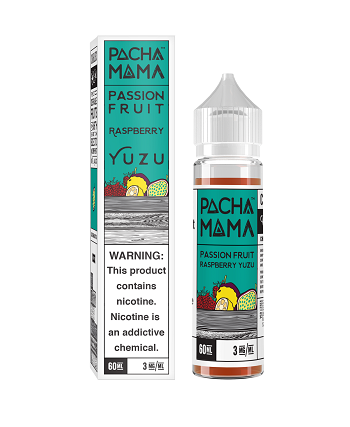 Charlies Pacha Mama 60ml: PassionFruit Rasberry Yuzu
