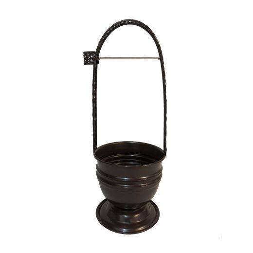 Brown Charcoal Basket