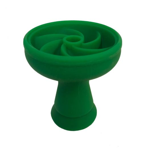 Green Silicone Shisha Bowl
