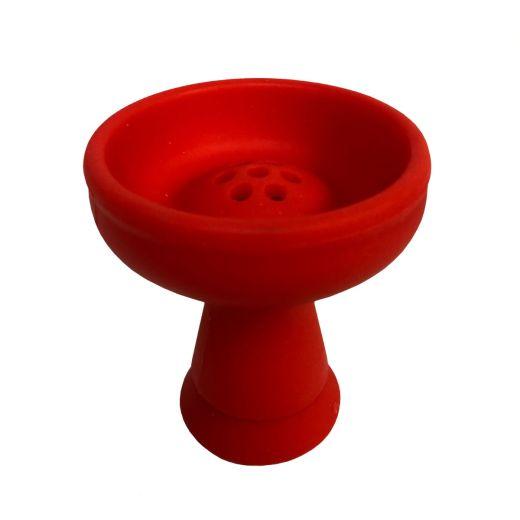 Red Silicone Shisha Bowl