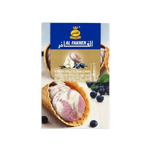 Al Fakher Blueberry Vanilla Icecream