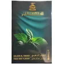 Al-Fakher  Golden Fresh Mint Edition 50g - Premium Shisha