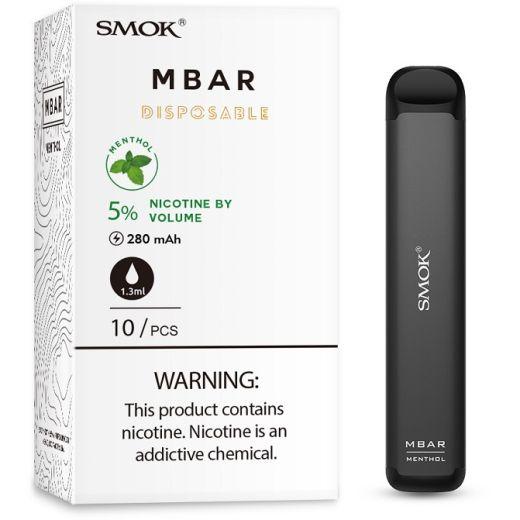 Smok MBAR Disposable Device: Menthol 50mg